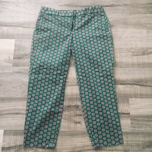 J. Crew stretch cropped pants. Size 4